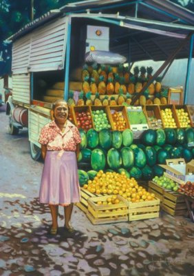 """Fruit Truck, Puerto Vallarta"""